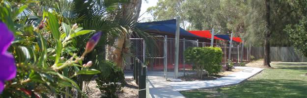Northshore Pet Resort garden