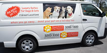 Brisbane pet pickup van