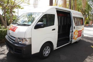 Northshore Pet Resort van